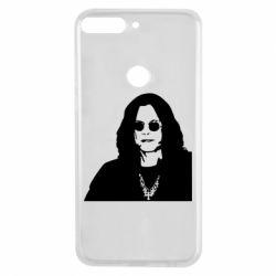 Чохол для Huawei Y7 Prime 2018 Ozzy Osbourne особа - FatLine