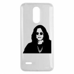 Чохол для LG K8 2017 Ozzy Osbourne особа - FatLine