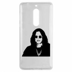 Чохол для Nokia 5 Ozzy Osbourne особа - FatLine