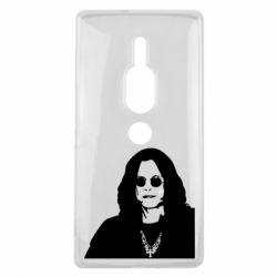 Чохол для Sony Xperia XZ2 Premium Ozzy Osbourne особа - FatLine