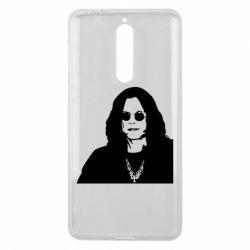 Чохол для Nokia 8 Ozzy Osbourne особа - FatLine