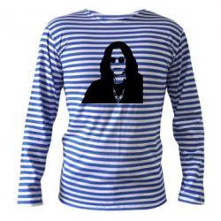 Тельняшка с длинным рукавом Ozzy Osbourne face - FatLine