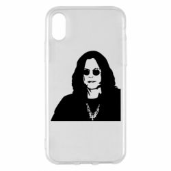 Чохол для iPhone X Ozzy Osbourne особа - FatLine
