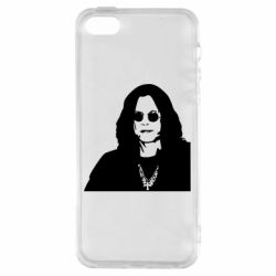 Чохол для iphone 5/5S/SE Ozzy Osbourne особа - FatLine