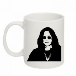 Кружка 320ml Ozzy Osbourne face - FatLine