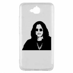 Чохол для Huawei Y6 Pro 2018 Ozzy Osbourne особа - FatLine
