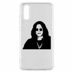 Чохол для Huawei P20 Ozzy Osbourne особа - FatLine