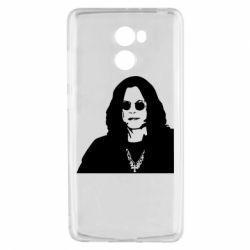 Чохол для Xiaomi Redmi 4 Ozzy Osbourne особа - FatLine