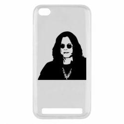 Чохол для Xiaomi Redmi 5a Ozzy Osbourne особа - FatLine