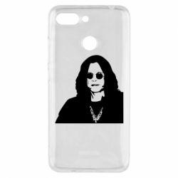 Чохол для Xiaomi Redmi 6 Ozzy Osbourne особа - FatLine