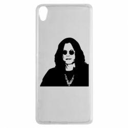 Чохол для Sony Xperia XA Ozzy Osbourne особа - FatLine