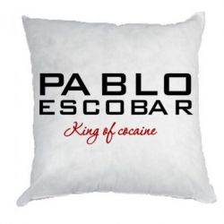 Подушка Pablo Escobar, King of Cocaine