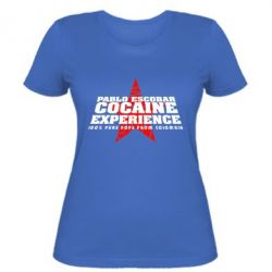 Женская футболка Pablo Escobar - FatLine