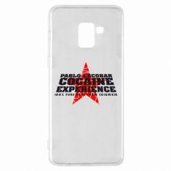 Чехол для Samsung A8+ 2018 Pablo Escobar