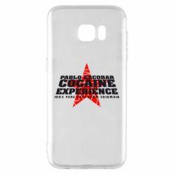 Чехол для Samsung S7 EDGE Pablo Escobar
