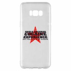 Чехол для Samsung S8+ Pablo Escobar
