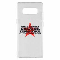 Чехол для Samsung Note 8 Pablo Escobar