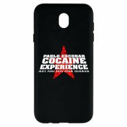 Чехол для Samsung J7 2017 Pablo Escobar