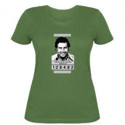 Женская футболка Pablo Escobar