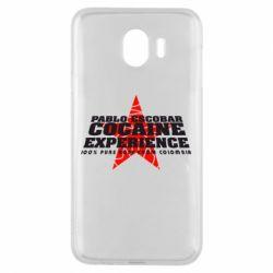 Чехол для Samsung J4 Pablo Escobar