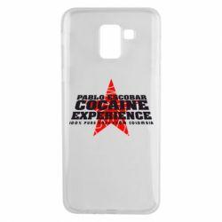 Чехол для Samsung J6 Pablo Escobar