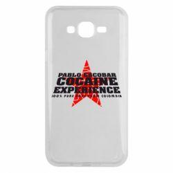 Чехол для Samsung J7 2015 Pablo Escobar