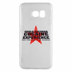 Чехол для Samsung S6 EDGE Pablo Escobar
