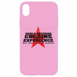 Чехол для iPhone XR Pablo Escobar
