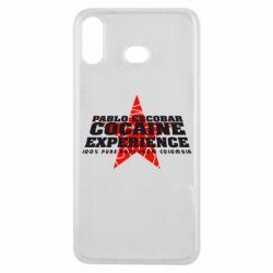 Чехол для Samsung A6s Pablo Escobar