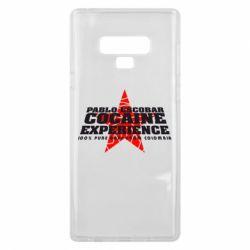 Чехол для Samsung Note 9 Pablo Escobar
