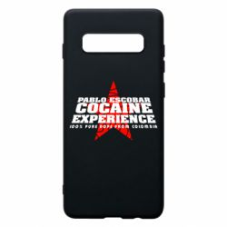 Чехол для Samsung S10+ Pablo Escobar