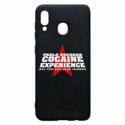 Чехол для Samsung A20 Pablo Escobar