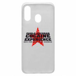 Чехол для Samsung A40 Pablo Escobar