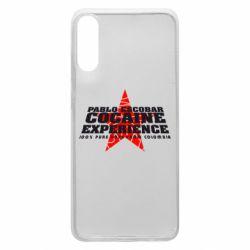 Чехол для Samsung A70 Pablo Escobar