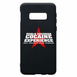 Чехол для Samsung S10e Pablo Escobar