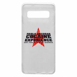 Чехол для Samsung S10 Pablo Escobar