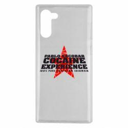Чехол для Samsung Note 10 Pablo Escobar