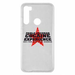 Чехол для Xiaomi Redmi Note 8 Pablo Escobar