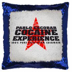 Подушка-хамелеон Pablo Escobar