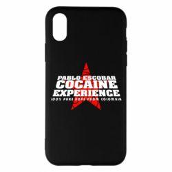 Чехол для iPhone X/Xs Pablo Escobar