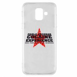 Чехол для Samsung A6 2018 Pablo Escobar