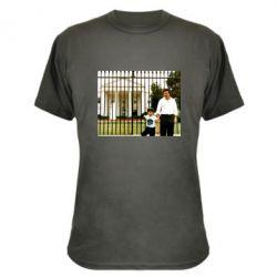 Камуфляжна футболка Пабло Ескобар