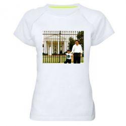 Жіноча спортивна футболка Пабло Ескобар