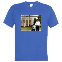 Чоловіча футболка з V-подібним вирізом Пабло Ескобар