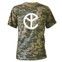 Камуфляжная футболка Pacific Trap