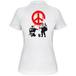 Женская футболка поло Pacific - FatLine