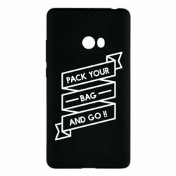 Чехол для Xiaomi Mi Note 2 Pack your bag and go