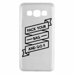 Чехол для Samsung A3 2015 Pack your bag and go