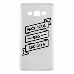 Чехол для Samsung A7 2015 Pack your bag and go