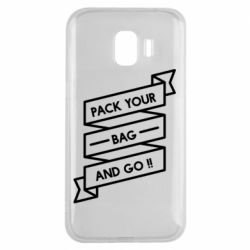Чехол для Samsung J2 2018 Pack your bag and go